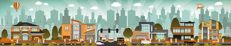 cars on road: City life