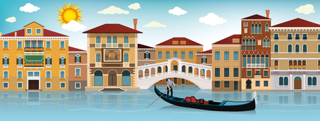 floating: In Venice Illustration