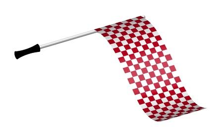 formula car: Racing Flag