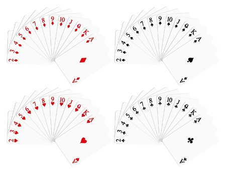 cards deck: Playing cards