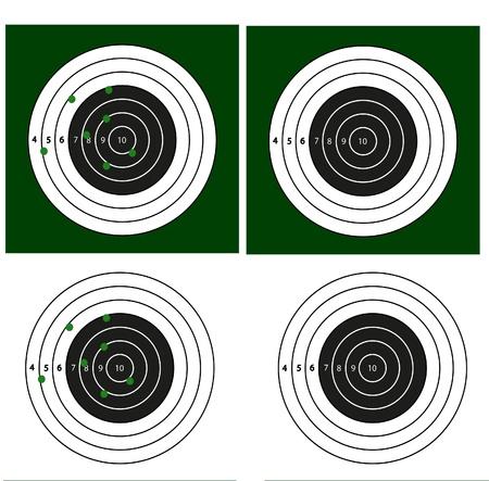 shooting target: Doel schietsport