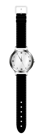 Wrist watch isolated on white background Stock Vector - 10280356