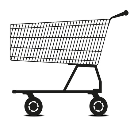 Shopping cart  Stock Vector - 10336149