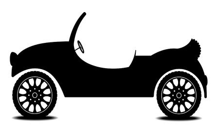 Car – cabriolet Stock Vector - 10410697