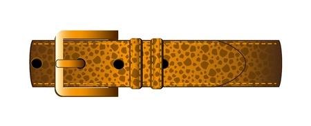 Luxury leader belt