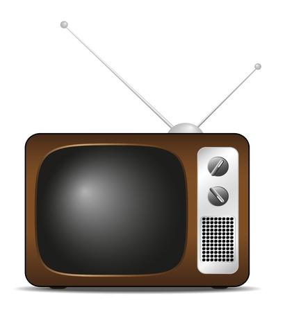 Retro TV  Stock Vector - 10682523