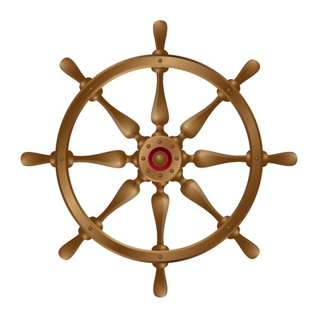 Ships wheel Illustration