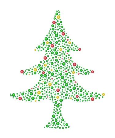 Abstract Christmas Tree  Stock Vector - 11376242