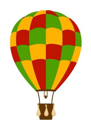 air show: Hot air balloon