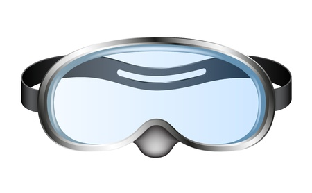 swimming costumes: Diving goggles (diving mask)