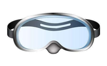 schnorchel: Taucherbrille (Taucherbrille)