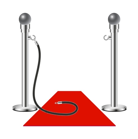 Free admission - Red Carpet  Stock Vector - 12498222
