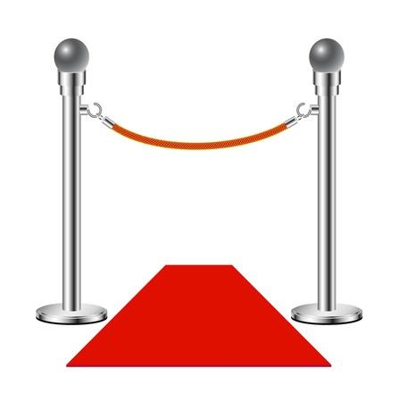 Red carpet – No entry