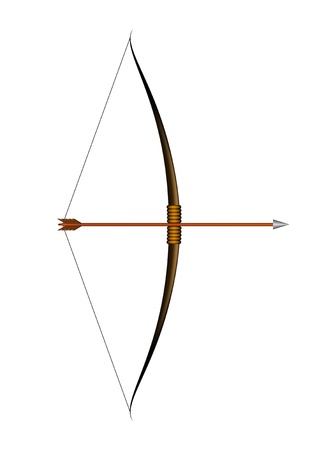 projectile: Bow and arrow