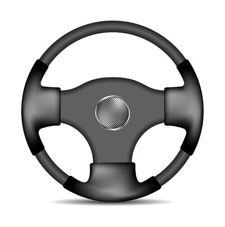 Steering wheel  Stock Vector - 12937571