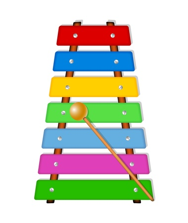 tuned: Colorful xylophone