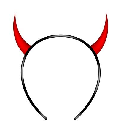 悪魔の角  イラスト・ベクター素材