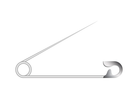 safety pin: Safety pin