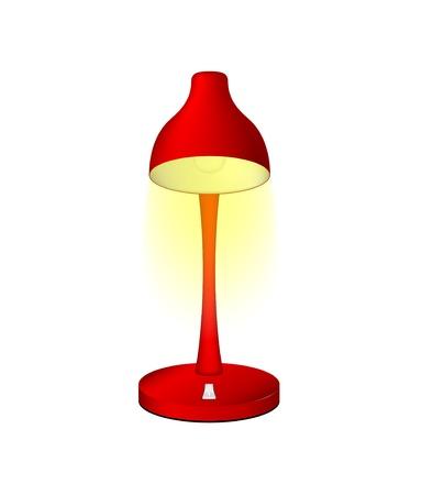 Red leeslamp