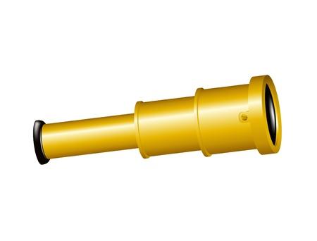 Spyglass Stock Vector - 13982845