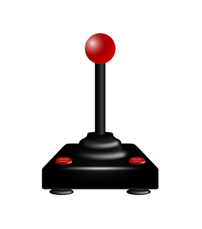 Joystick in retro design Stock Vector - 14056316
