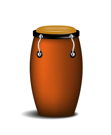 Conga  percussion music instrument  Vector