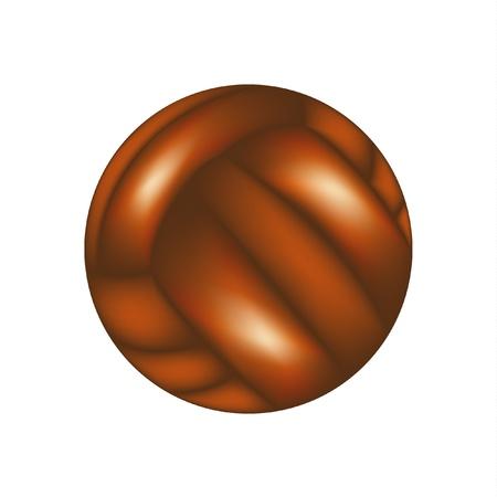 sewed: Vintage football ball