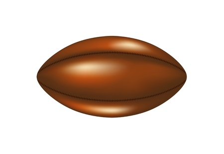 Retro rugby ball  Vector