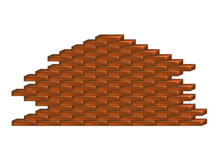 Brick wall Stock Vector - 14556915