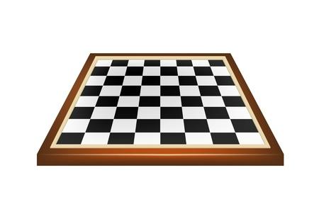 空のチェス盤  イラスト・ベクター素材
