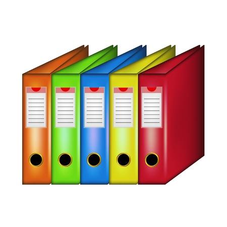 Office フォルダーの行  イラスト・ベクター素材