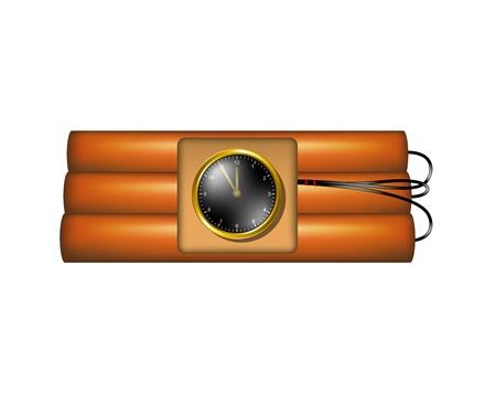 time bomb: Time bomb  Illustration