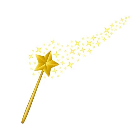 魔法の杖  イラスト・ベクター素材
