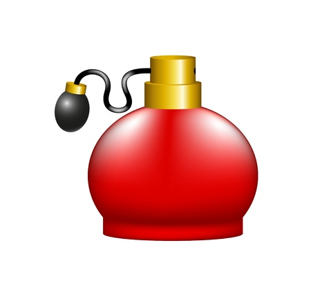 sprayer: Luxurious perfume in retro design