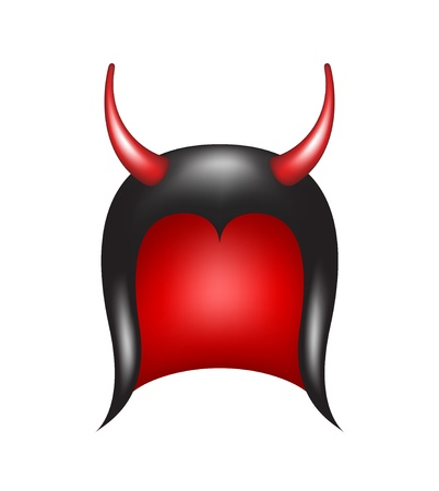 Devils horns