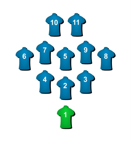 tactics: Football formation