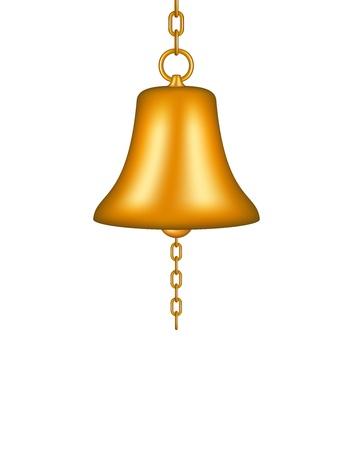 Golden bell Stock Vector - 15515792
