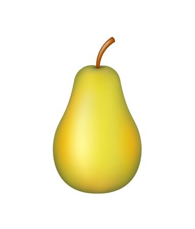 Fruit – ripe pear Stock Vector - 16056907