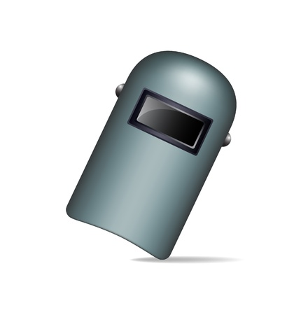 Protective welding mask Vector