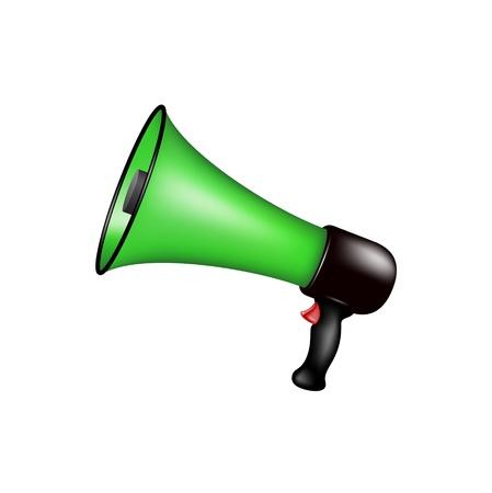 loudhailer: Retro megaphone
