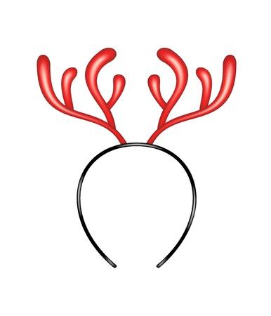 Reindeer caribou - headband Stock Vector - 16754037