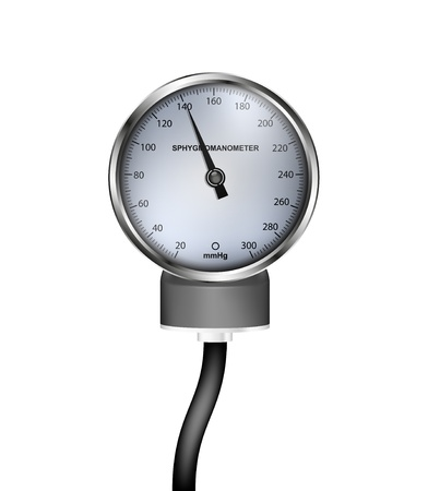 sphygmomanometer: Medical sphygmomanometer Illustration