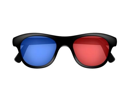stereoscope: Cinema glasses in retro design
