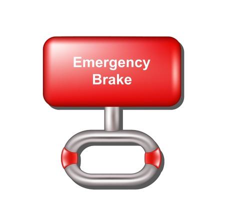 frenos: Freno de emergencia