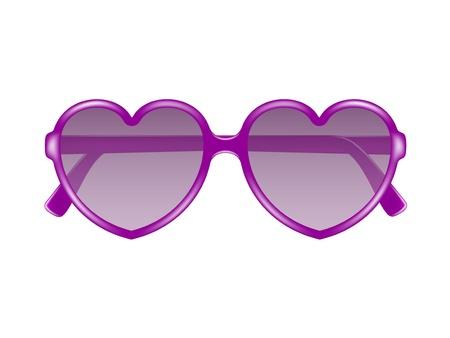 sole occhiali: Occhiali da sole a forma di cuore