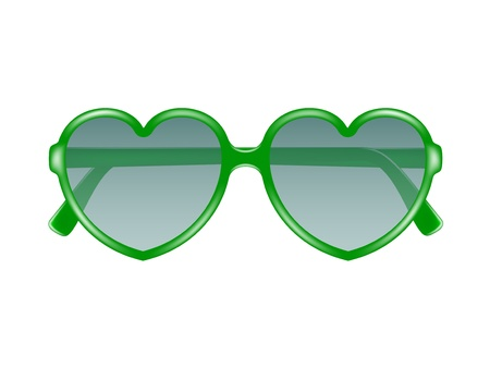eyewear fashion: Sun glasses in shape of heart