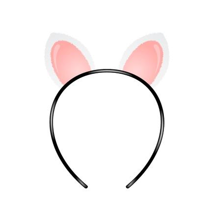 Cat oren hoofdband