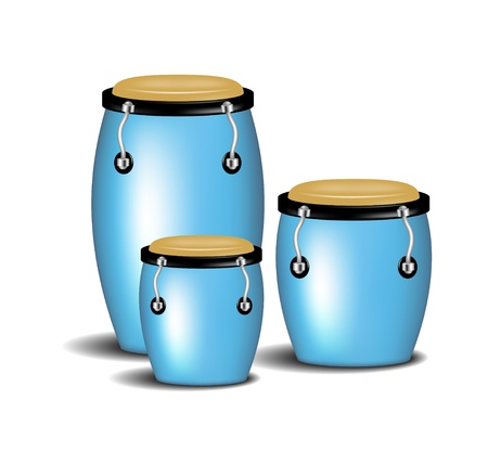 Congas band Stock Vector - 20892041