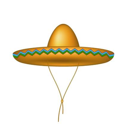 traje mexicano: Sombrero del sombrero
