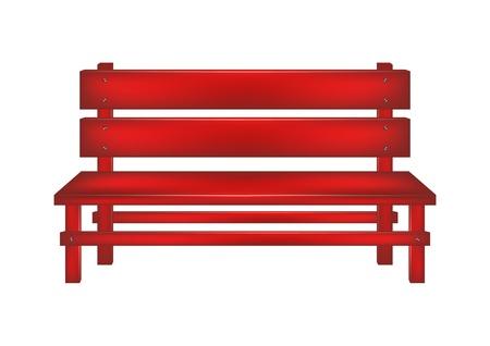garden bench: Rural bench
